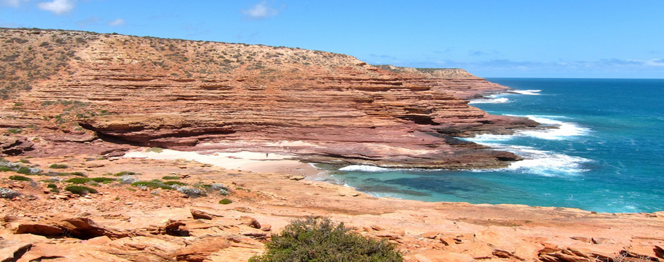 Explore all that Kalbarri has to offer including the Kalbarri Coastal Cliffs