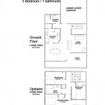 3 Bedroom Poolside Villa Floor Plan